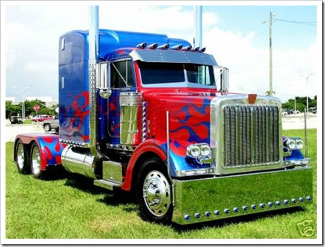 Tuning de camiones for El mural trailer