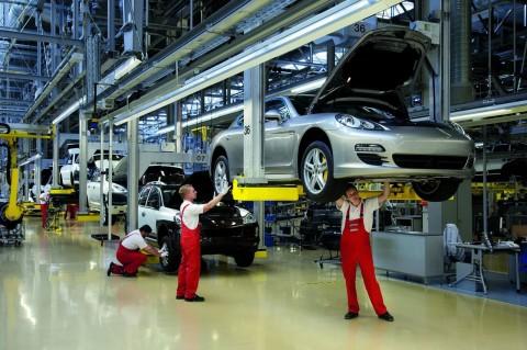 Empieza La Fabricaci 243 N En Serie Del Porsche Panamera