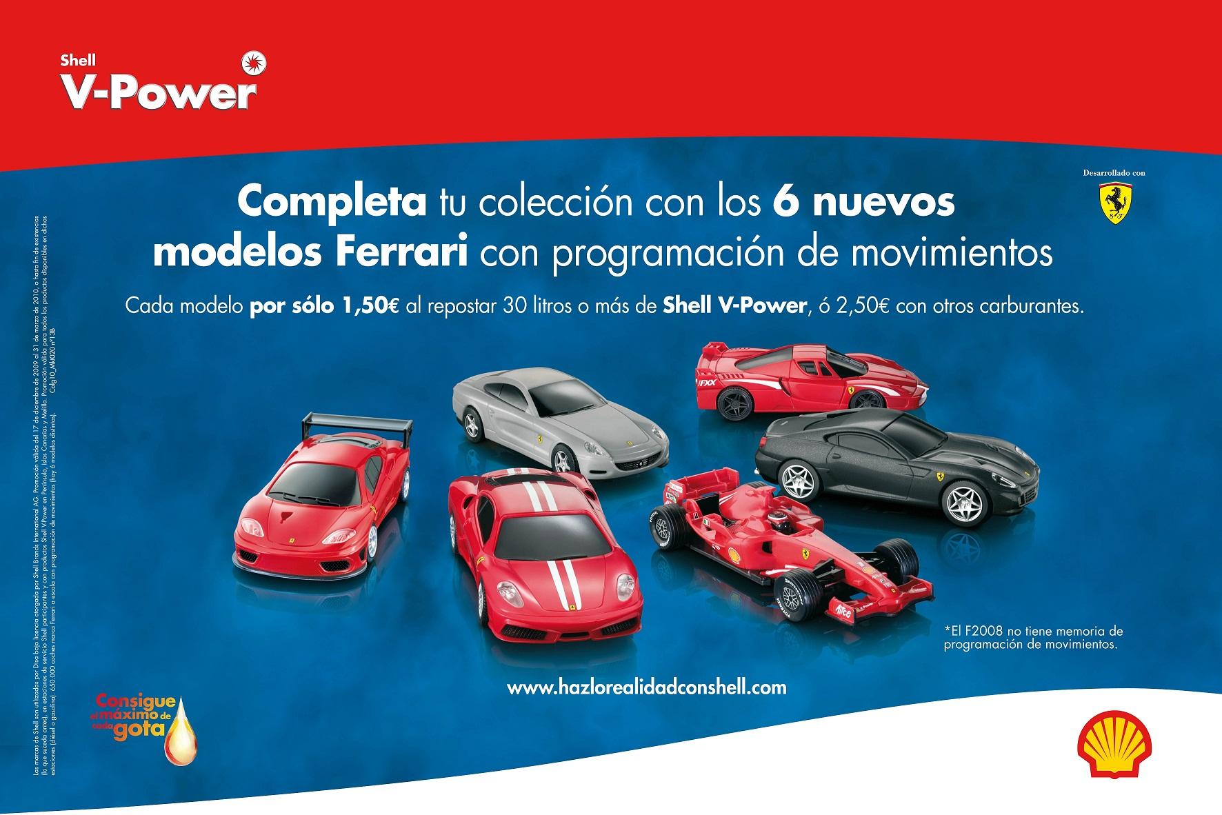 Ferrari Con Programaci 243 N De Movimientos En Estaciones Shell