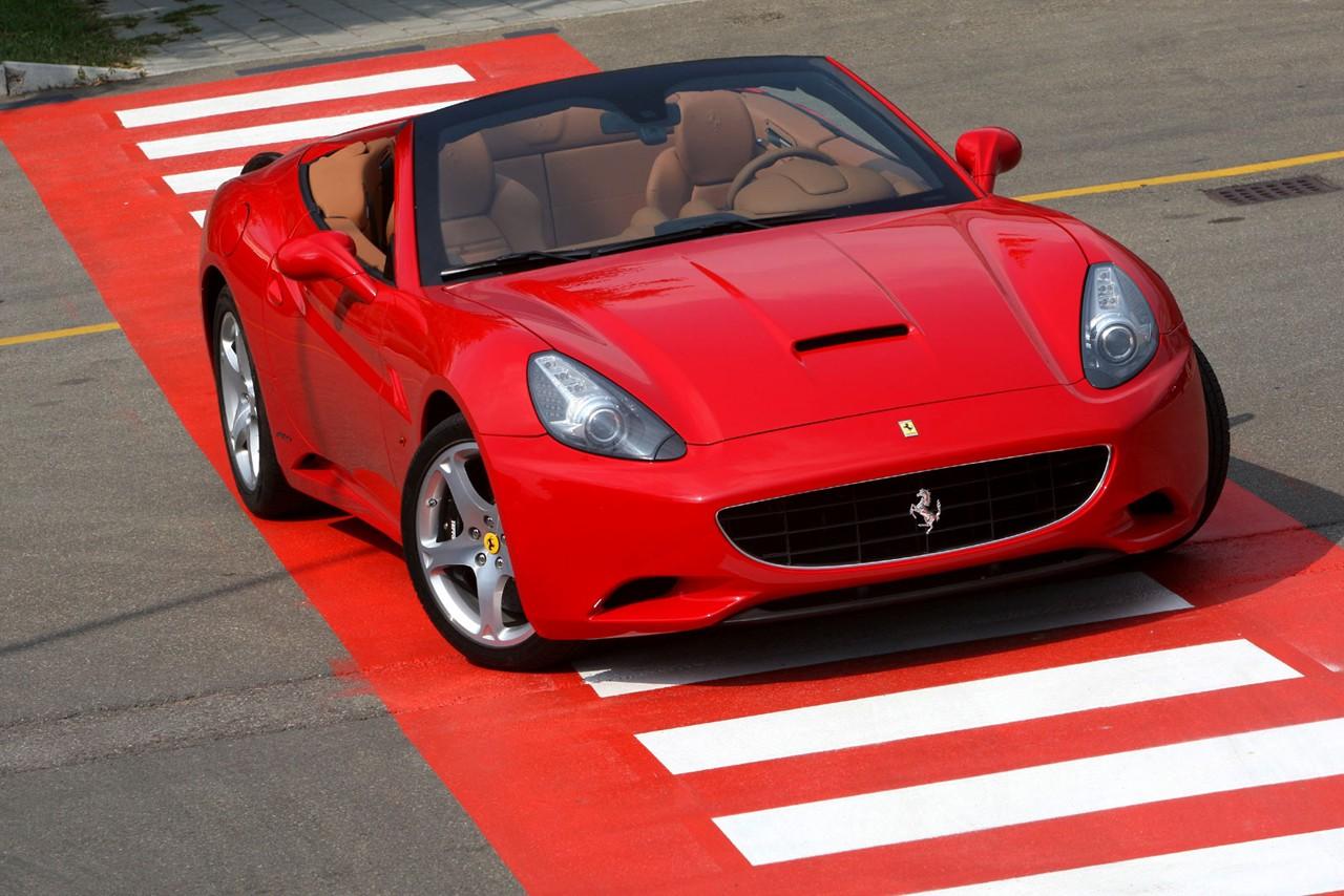 Ferrari California Con Cambio Manual