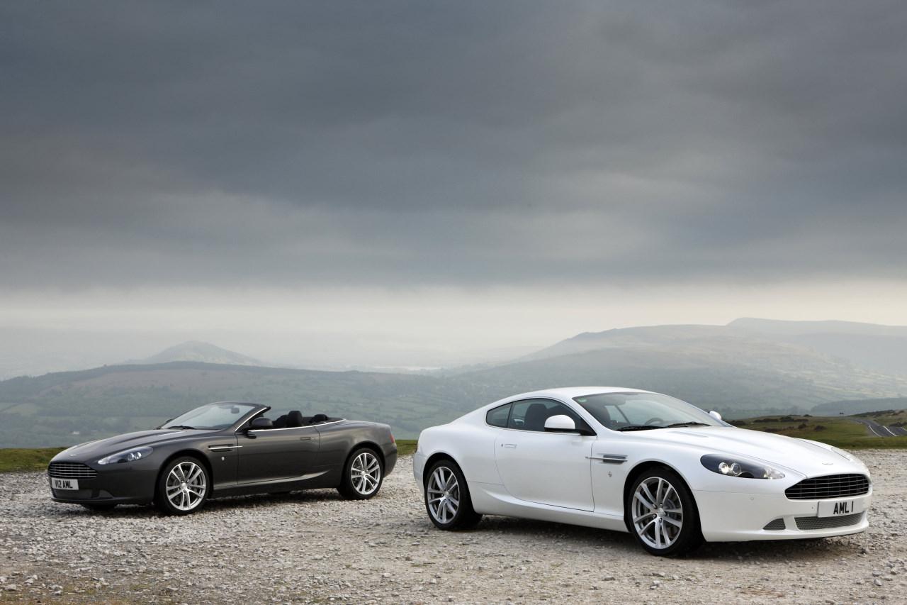 Imágenes del Aston Martin DBS