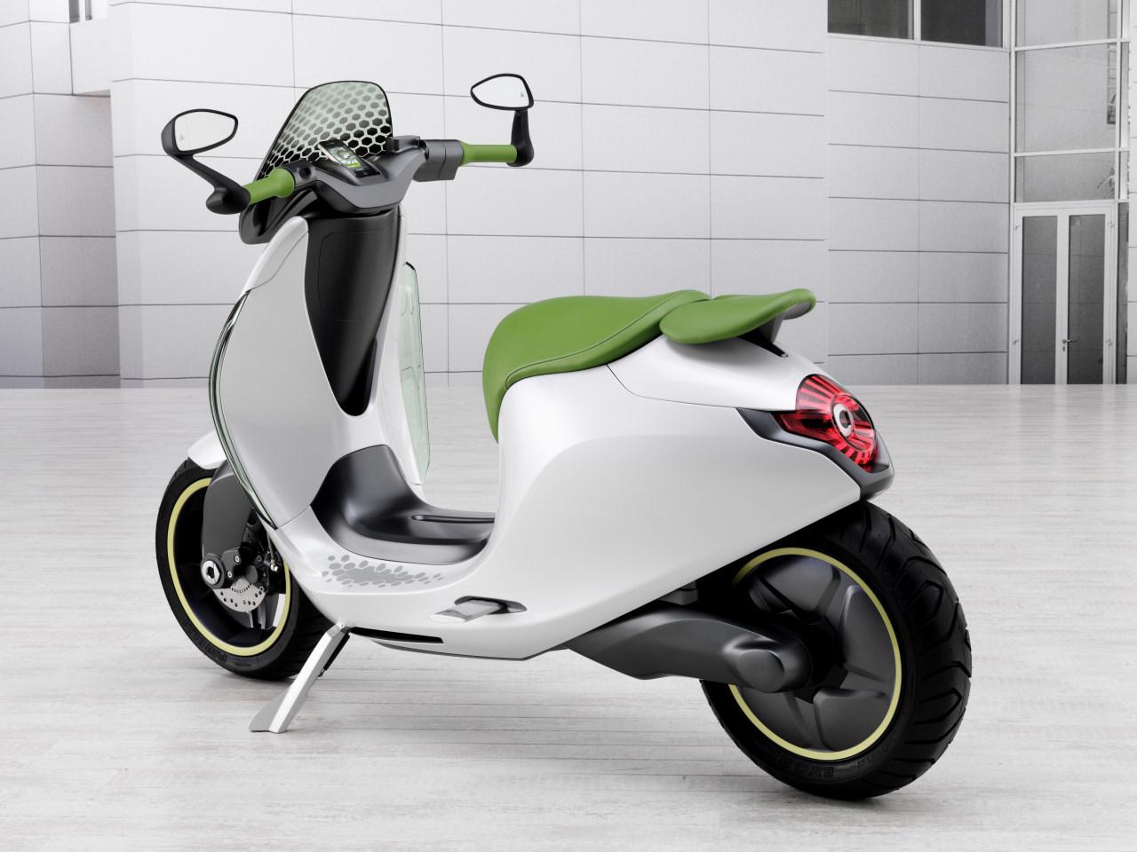 Escooter La Moto El 233 Ctrica De Smart