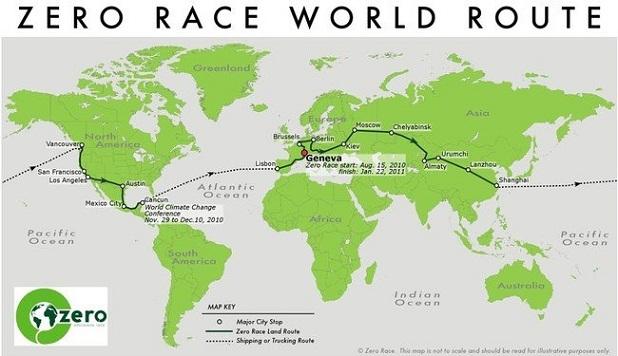 itinerario zero race