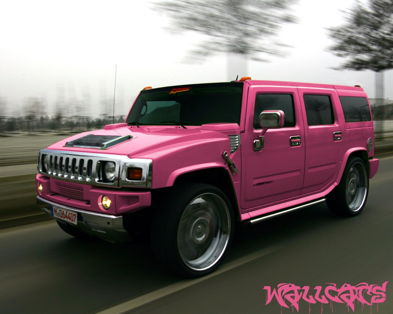 Hummer H2 Pink Edition De Color Rosa