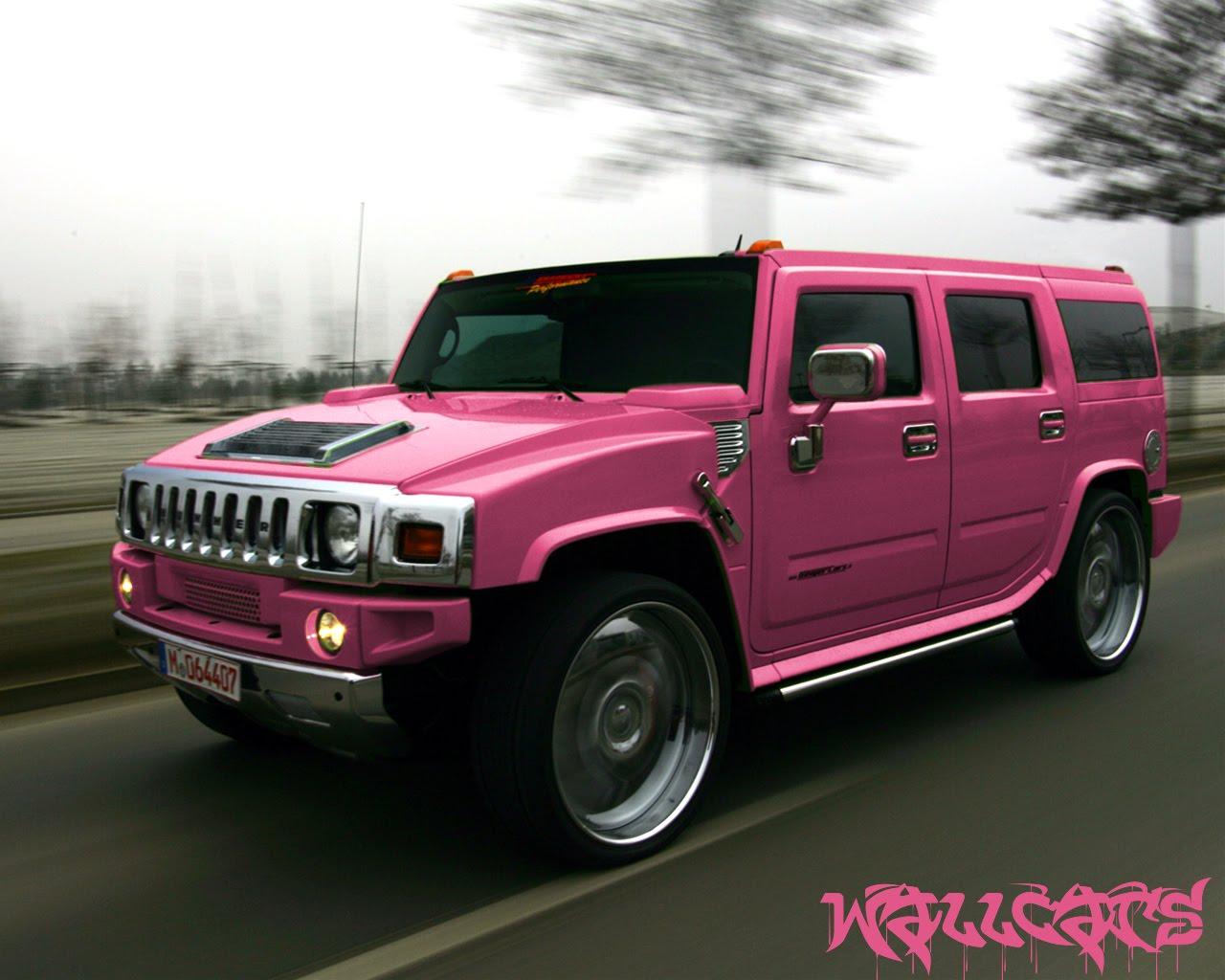 Hummer H2 Pink Edition De Color Rosa