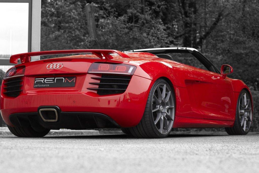 Audi R8 V10 Spyder Por Renm Performance