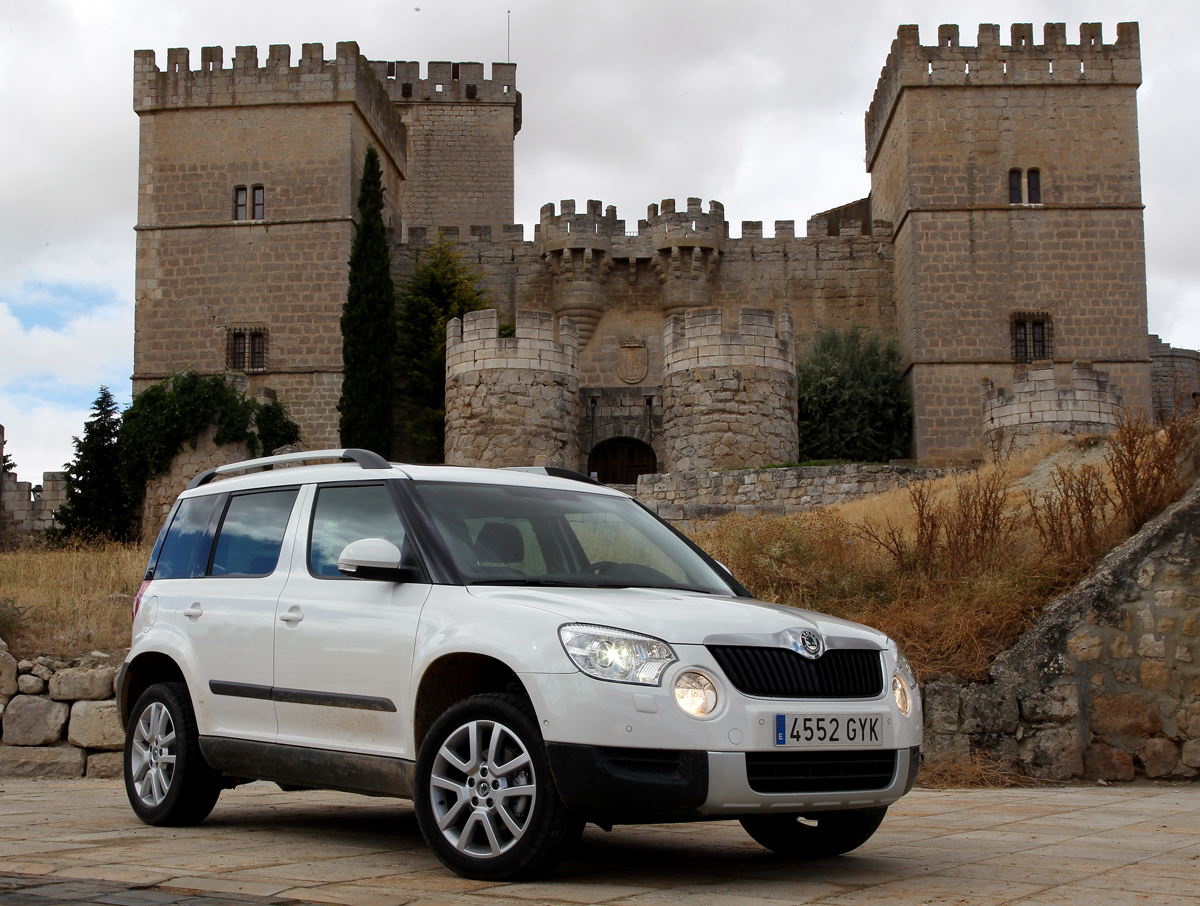 Skoda Yeti 5 Skoda Yeti model 2012 is perfect for off road terrain!