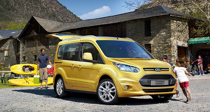 Ford Tourneo Courier Y Connect