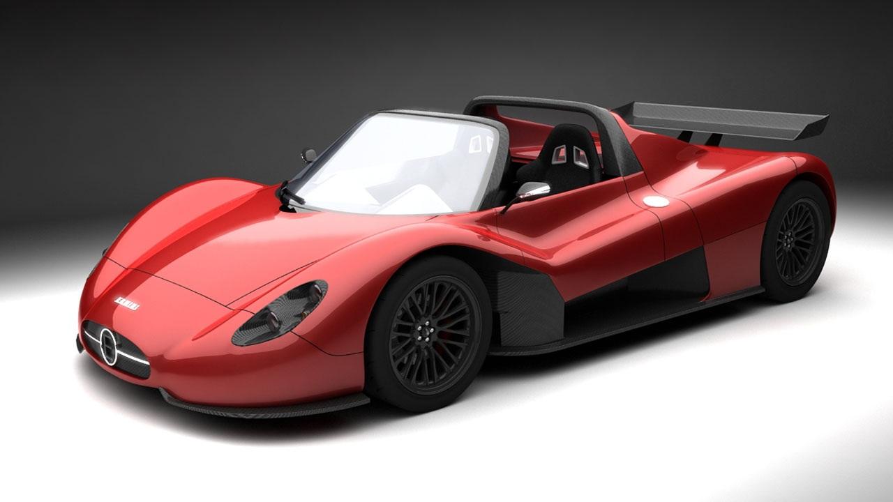 Ermini 686 Seiottosei Roadster, un nuevo concept deportivo para 2013