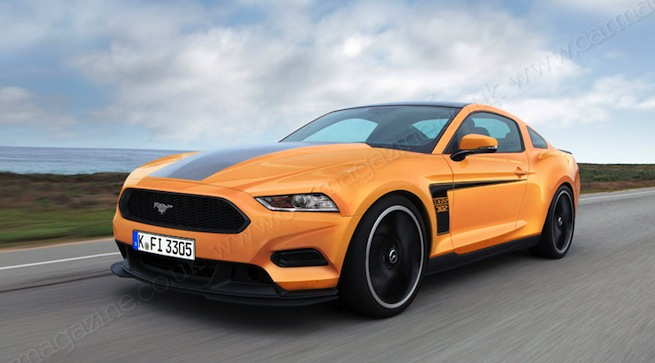 Primera imagen del Ford Mustang 2014 que llegará a Europa