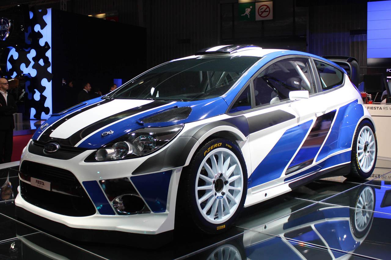 Ford Fiesta Wrc 2012 3