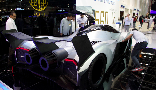 Devel Sixteen El Superdeportivo Made In Dubai Con 5 000 Cv