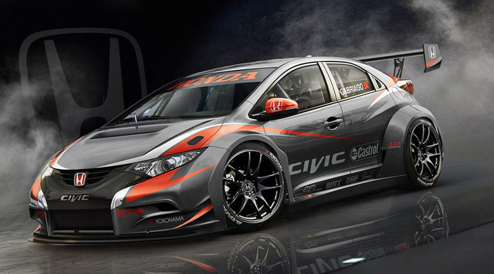 citr en c elys e wtcc y honda civic type r wtcc 2014. Black Bedroom Furniture Sets. Home Design Ideas