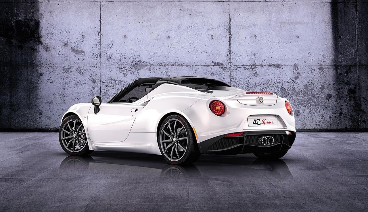 Alfa Romeo 4C descapotable