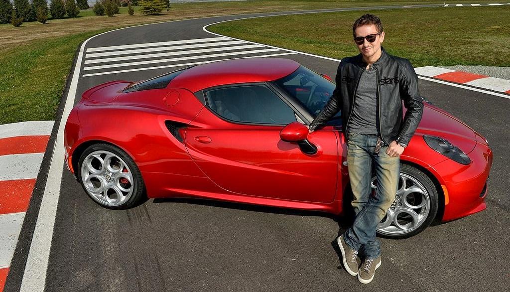 Jorge Lorenzo Alfa Romeo 4C