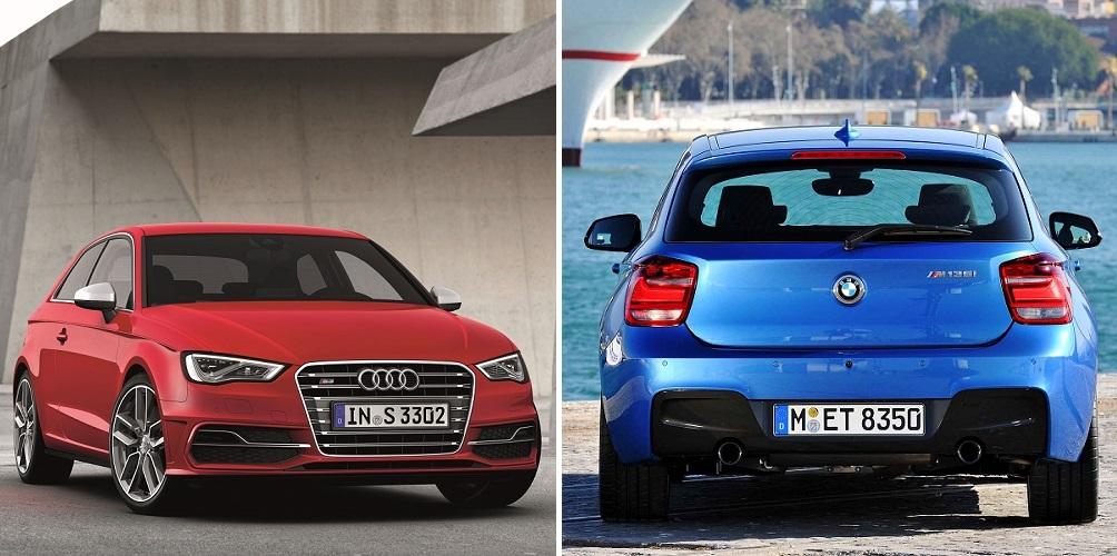 Audi S3/Standaufnahme