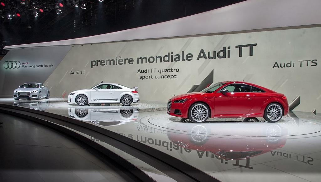 Audi TT en Ginebra