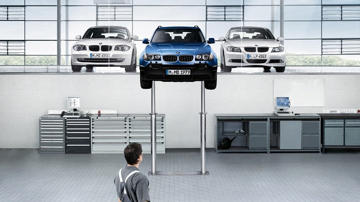 BMW taller