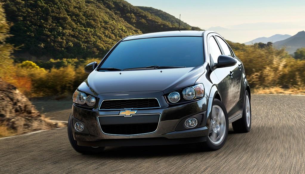 El nuevo Chevrolet Sonic es muy parecido al Chevrolet Sonic que se