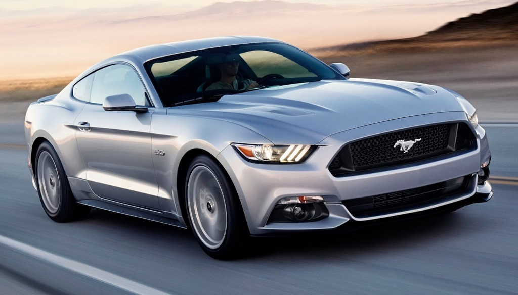 Ford Mustang gris