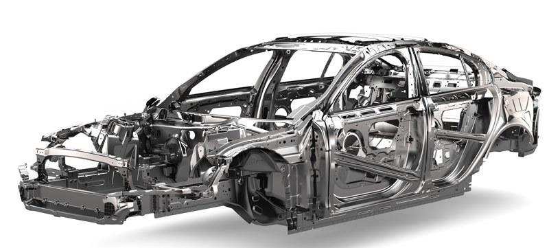 Jaguar XE chasis