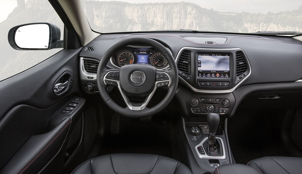 Jeep Cherokee 2014 interior