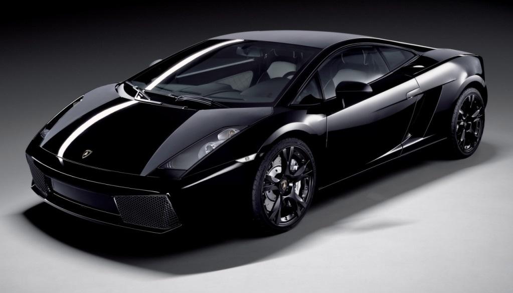 Lamborghini Gallardo negro