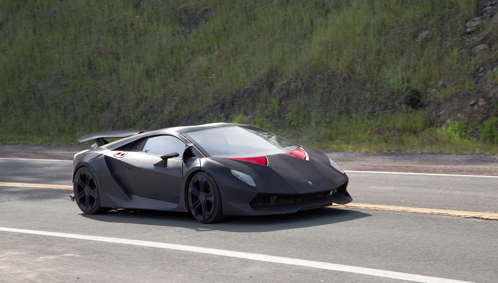 Lamborghini Sesto Elemento rodaje Need for Speed