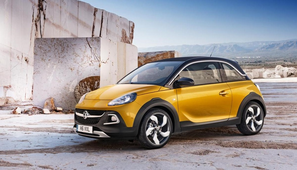 Opel Adam Rocks amarillo