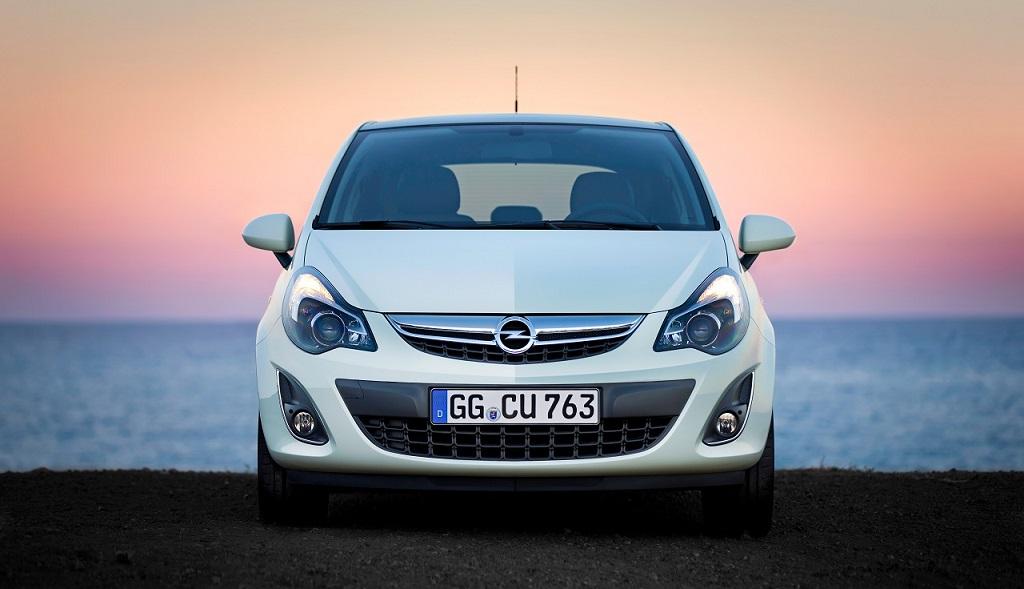 Opel Corsa blanco