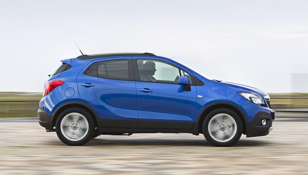 Opel Mokka azul
