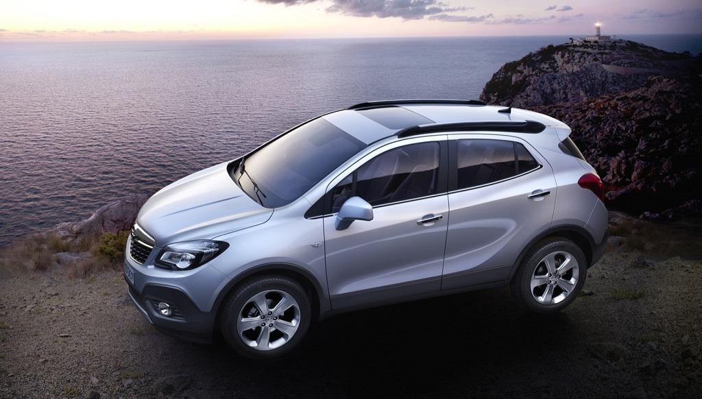 Opel Mokka gris