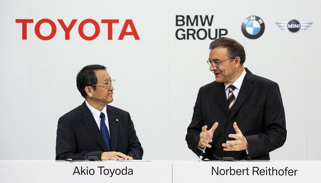 Toyota y BMW acuerdo