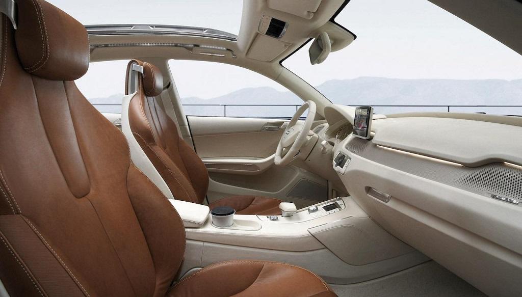 cross coupe interior