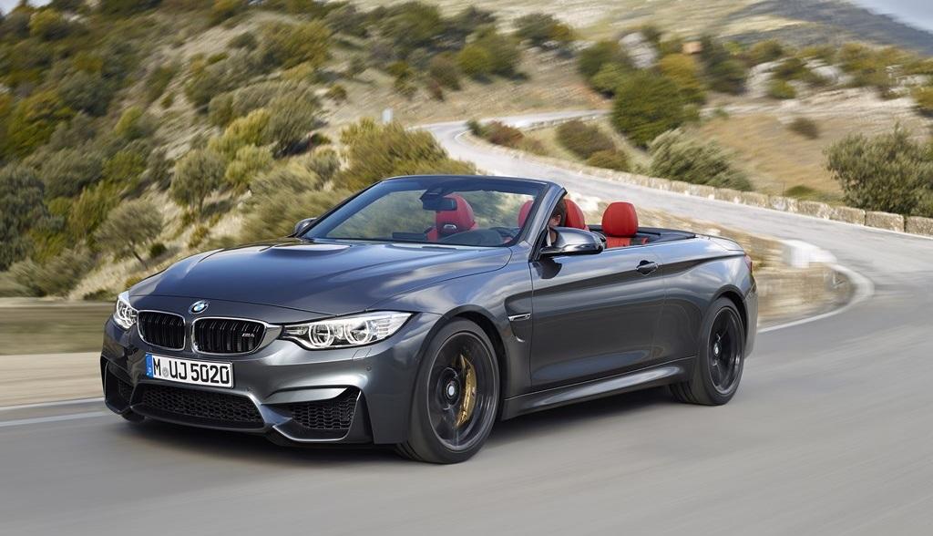 BMW M4 Cabrio gris
