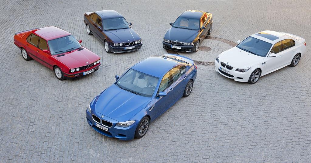 BMW M5 historia
