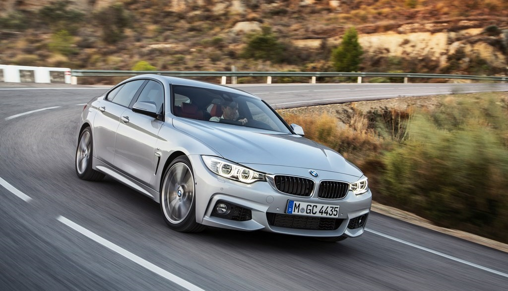 BMW Serie 4 Gran Coupe gris