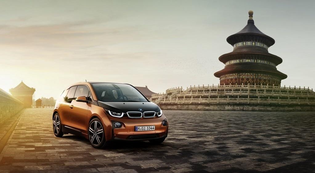 BMW i3 China
