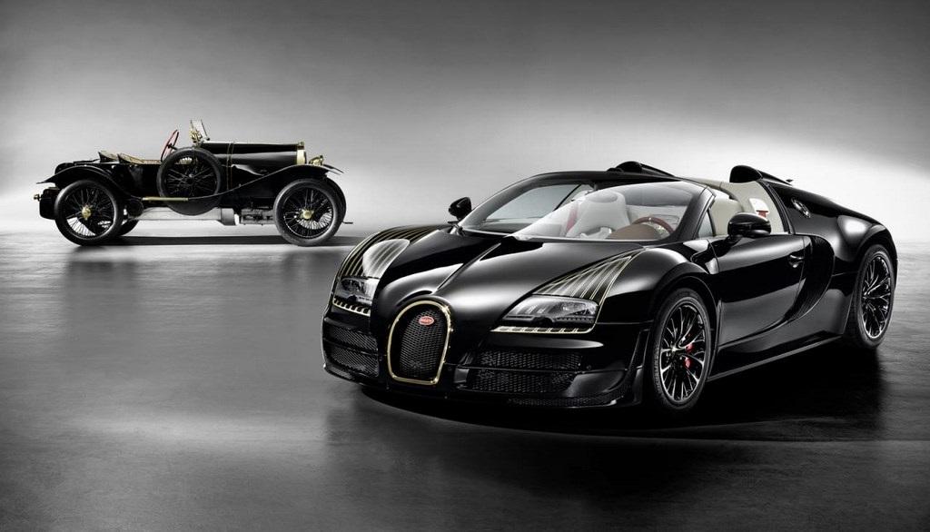 Bugatti Veyron Grand Sport Black Bess 12