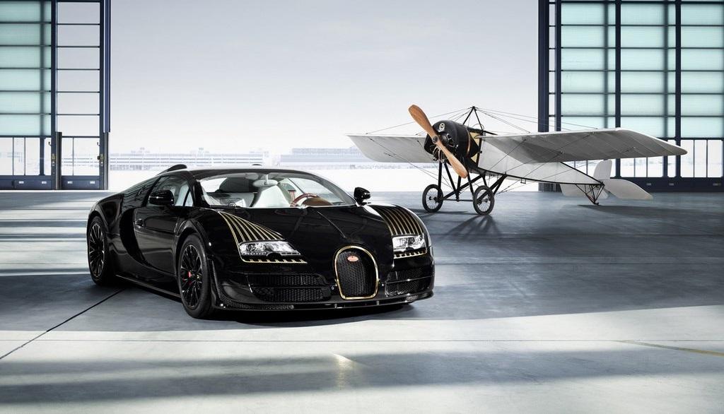 Bugatti Veyron Grand Sport Black Bess 2