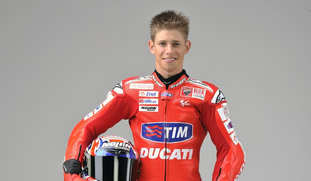 Casey Stoner mono Ducati