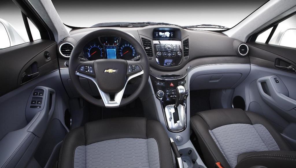 Chevrolet Orlando Concept interior