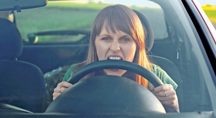 furia al volante