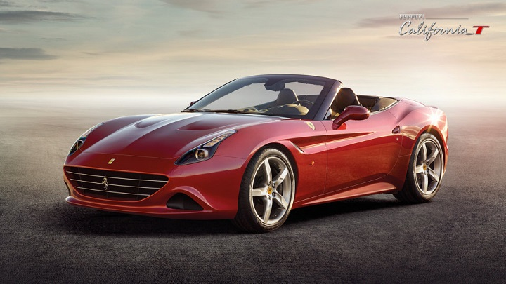 Ferrari California T frontal