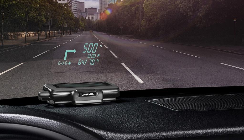 GPS Garmin HUD