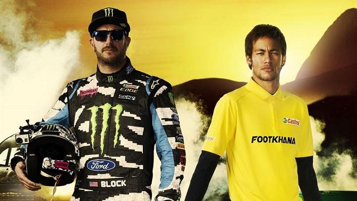 Ken Block y Neymar