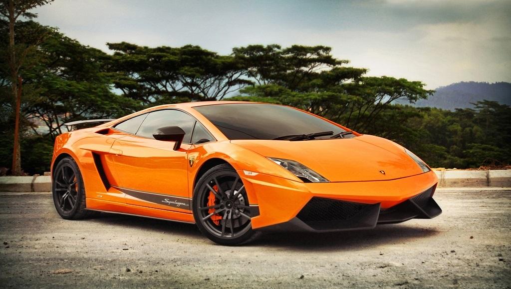 Lamborghini Gallardo naranja