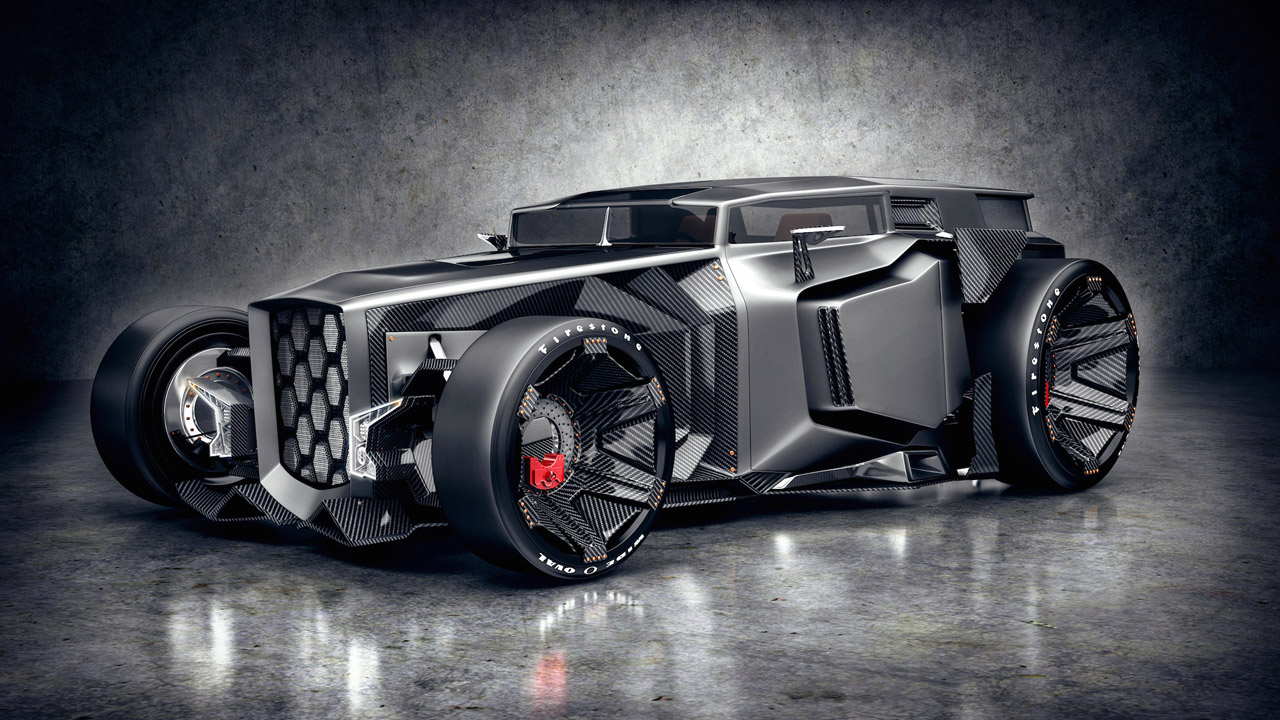 Lamborghini Rat Rod 3