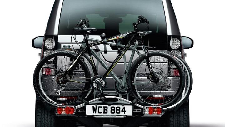 Land Rover Discovery portabicis