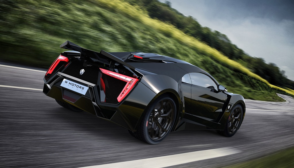 Lykan Hypersport zaga